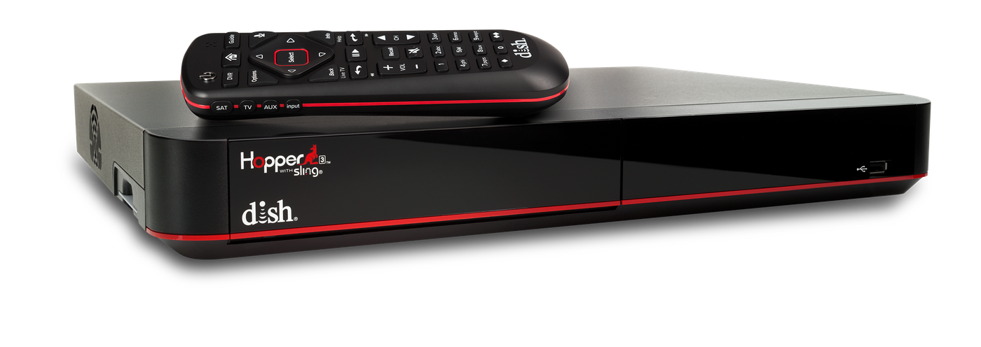 The Hopper - Voice remotes and DVR - Yuba City, California - Go Satellite City - DISH Authorized Retailer