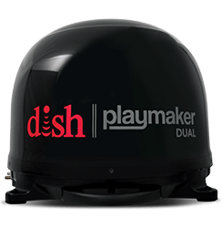 DISH Playmaker Dual - Outdoor TV - Yuba City, California - Go Satellite City - DISH Authorized Retailer